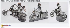 metalowe motocykle